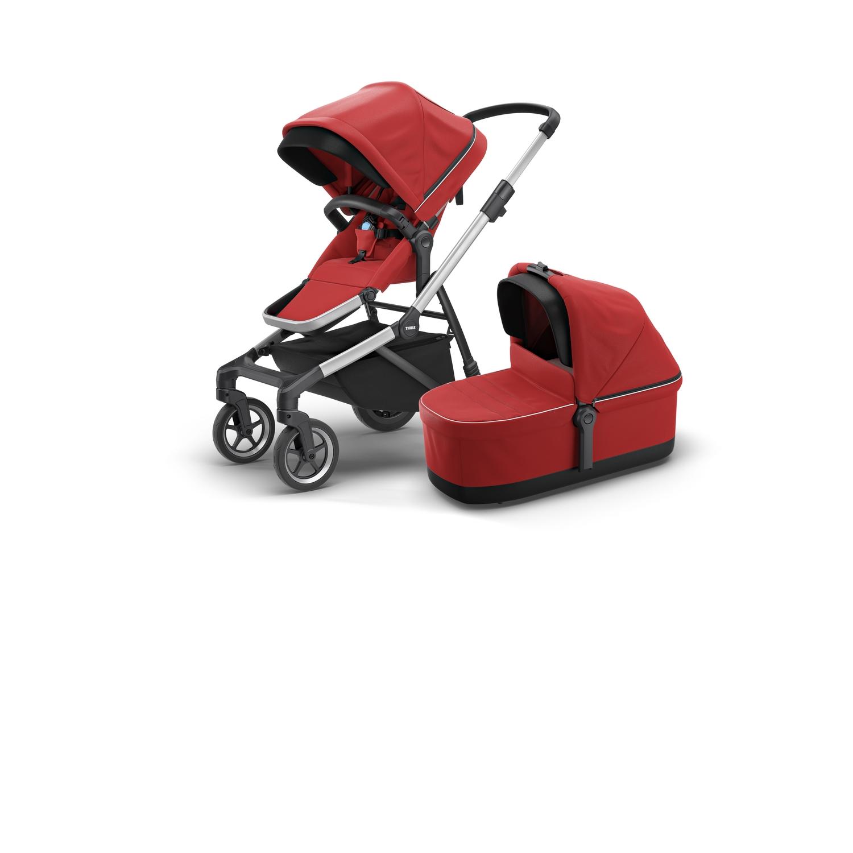 Thule Sleek Energy Red w.bassinet