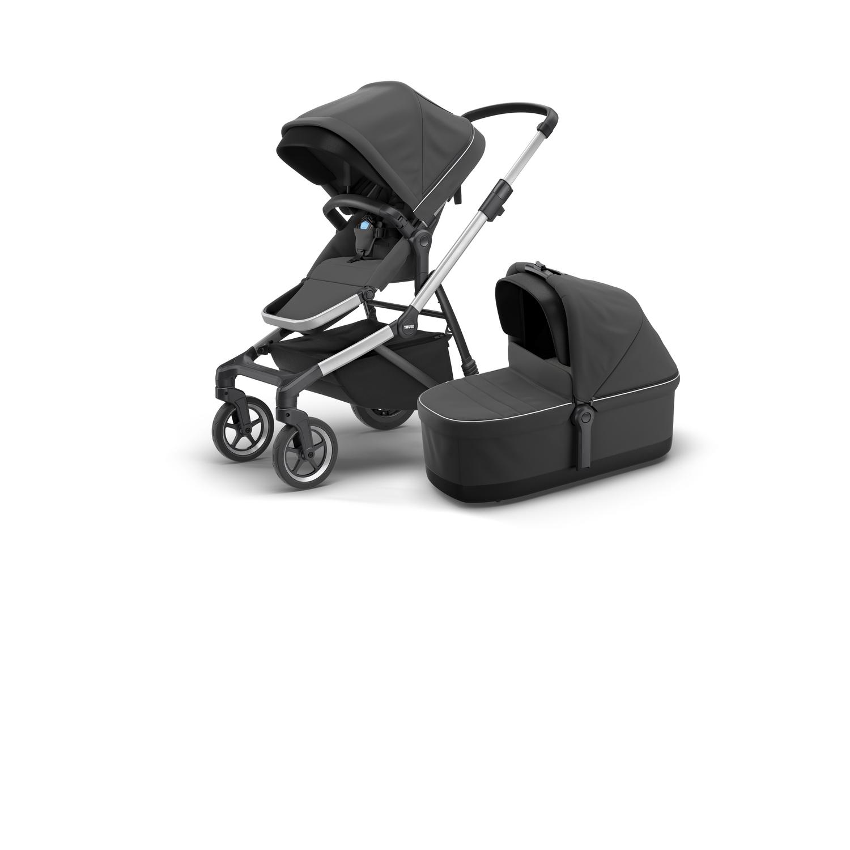 Thule Sleek Charcoal Grey w.bassinet