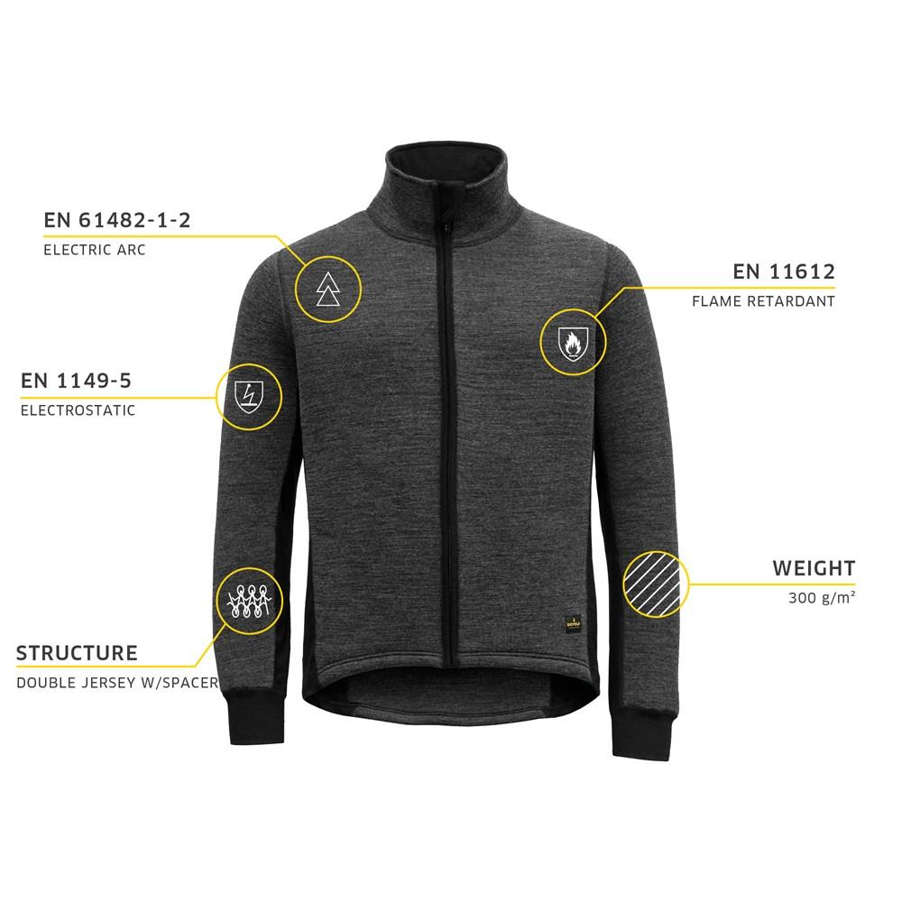 Spacer jacket